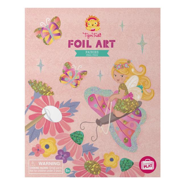 Foil Art - Fairy   Tiger Tribe