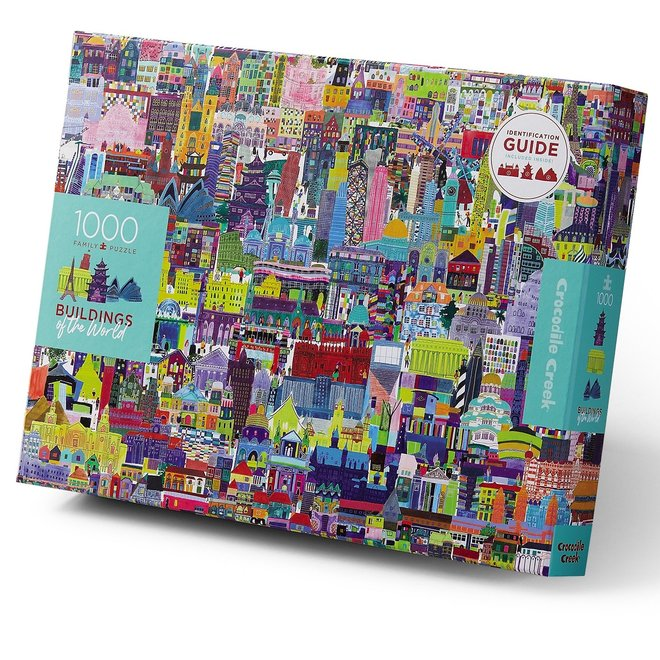 Familie puzzel Buildings of the world - 1000st