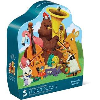 Crocodile Creek Puzzel Animal Orchestra - 36 stukken