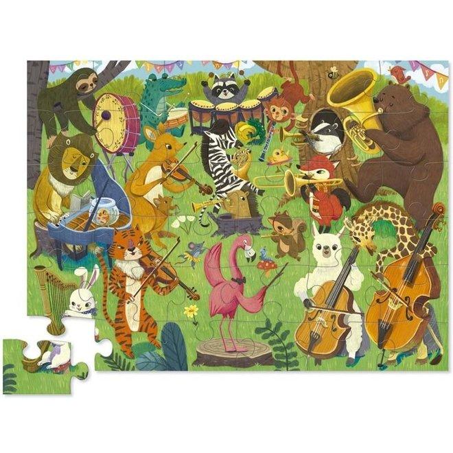 Puzzel Animal Orchestra - 36 stukken