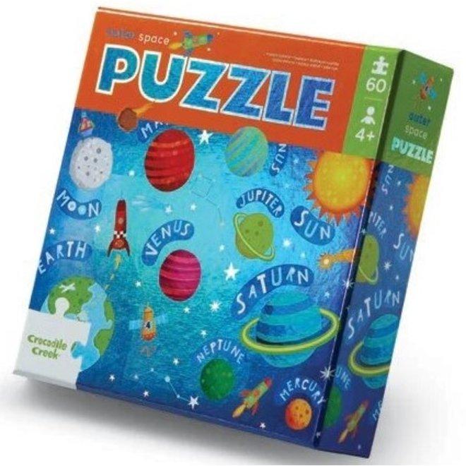 Foil puzzel Outer Space - 60 stukken