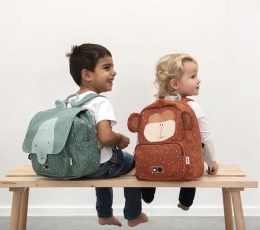 Terug naar school: boekentassen, rugzakken, drinkflessen en brooddozen