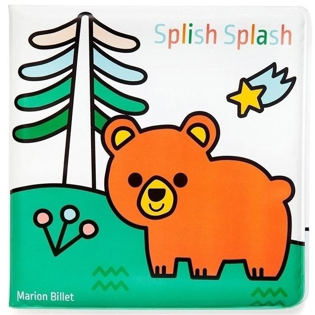 Magisch badboekje Splish Splash - Land