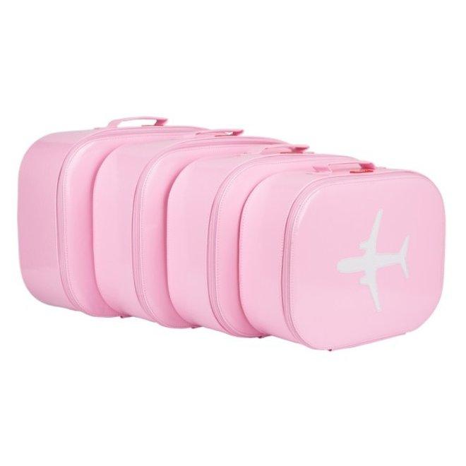 Koffer vliegtuig Rose - Bakker made with love