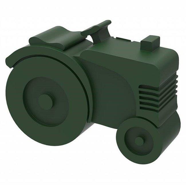 Blafre Brooddoos / Lunchbox  Traktor Donkergroen | Blafre