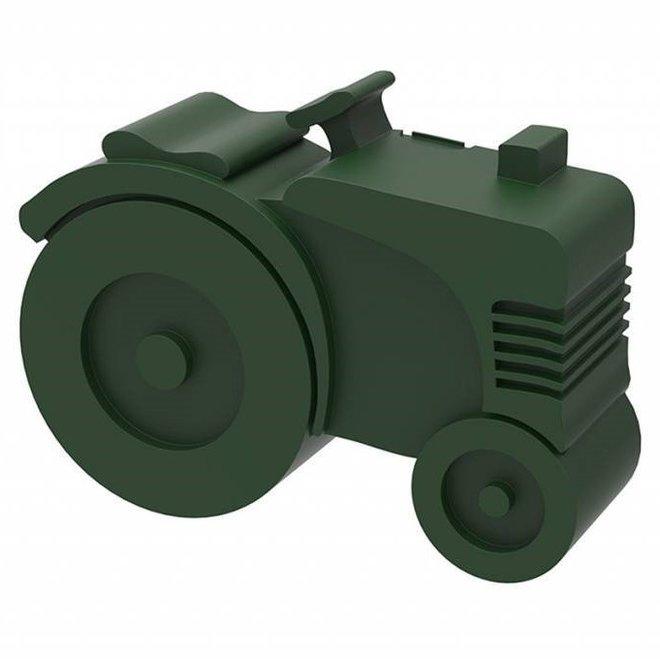 Brooddoos / Lunchbox  Traktor Donkergroen | Blafre