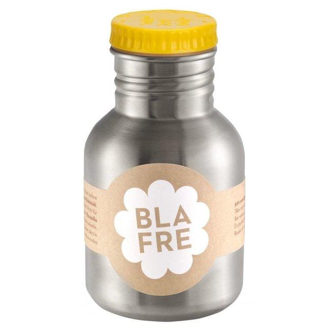 Coole stalen drinkfles 300ml Felgeel   Blafre