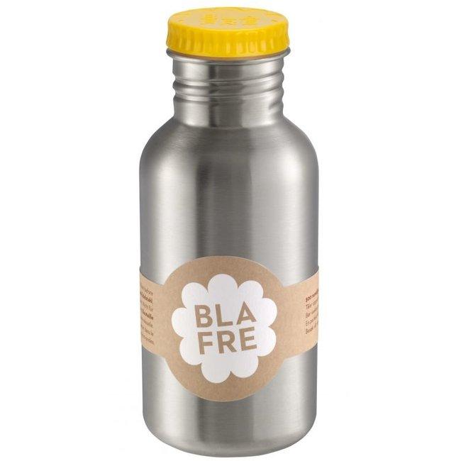 Coole stalen drinkfles 500ml Felgeel | Blafre