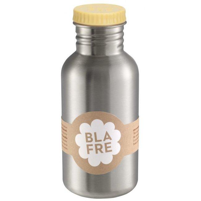 Coole stalen drinkfles 500ml Lichtgeel | Blafre