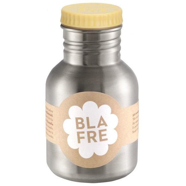 Coole stalen drinkfles 300ml Lichtgeel | Blafre