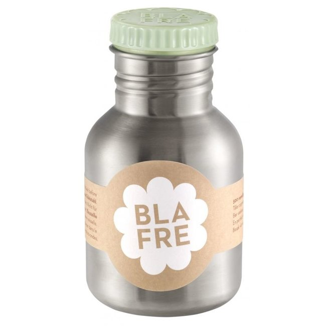 Blafre Coole stalen drinkfles 300ml zacht groen | Blafre