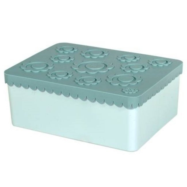 Blafre Toffe lunchbox HDPE blauw | Blafre