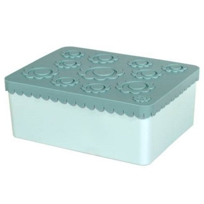 Toffe lunchbox HDPE blauw | Blafre