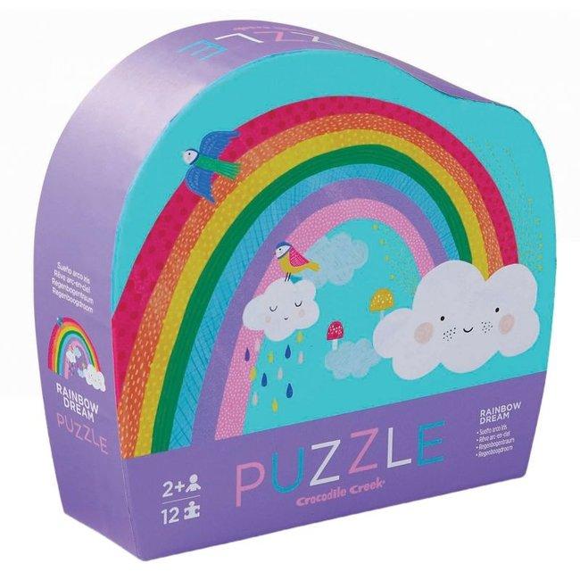 Mini Puzzel Rainbow 12st | Crocodile Creek