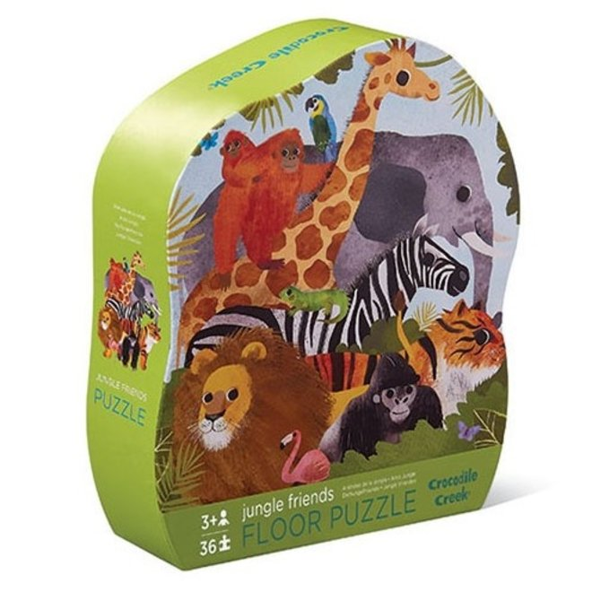Vloerpuzzel Jungle Friends – 36st