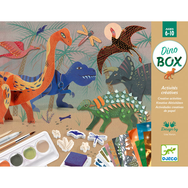 Djeco Multi-activiteitenset Dinowereld | Djeco