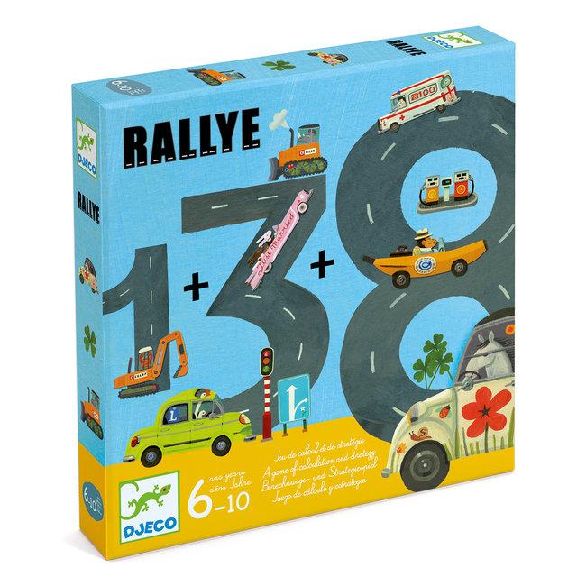 Djeco Rekenspel Rallye