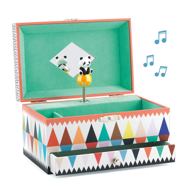 Djeco Muziek- en juwelendoos Panda