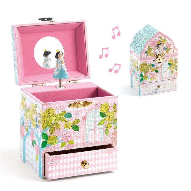 Djeco Muziek- en juwelendoos Bloemenpaleis