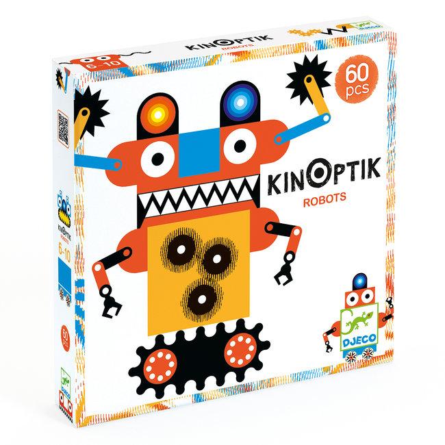 Djeco Puzzelspel Kinoptik - Robots