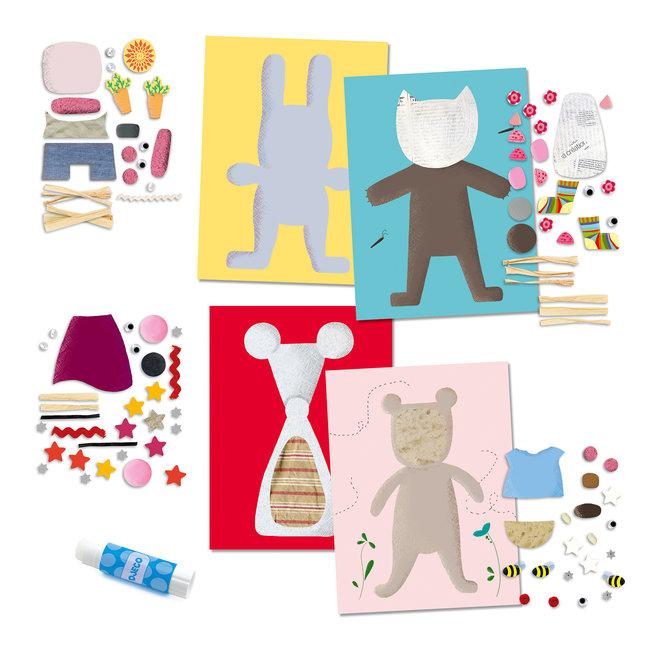 Knutselset Collage voor Kinderen