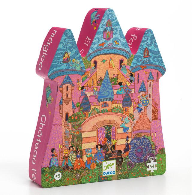 Puzzel Het feeërieke kasteel - 54 stukken