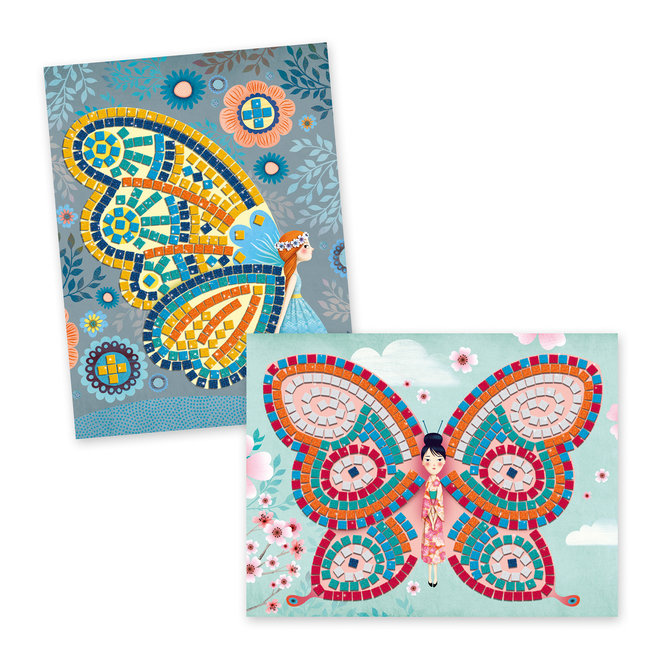 Mozaïekset Vlinders - Art by Numbers   Djeco