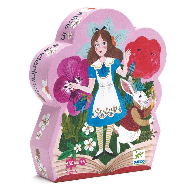 Djeco Puzzel Alice in Wonderland 50 pcs | Djeco
