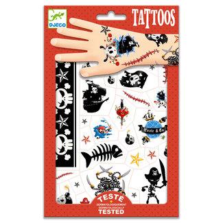 Djeco Tattoos - Piraten | Djeco