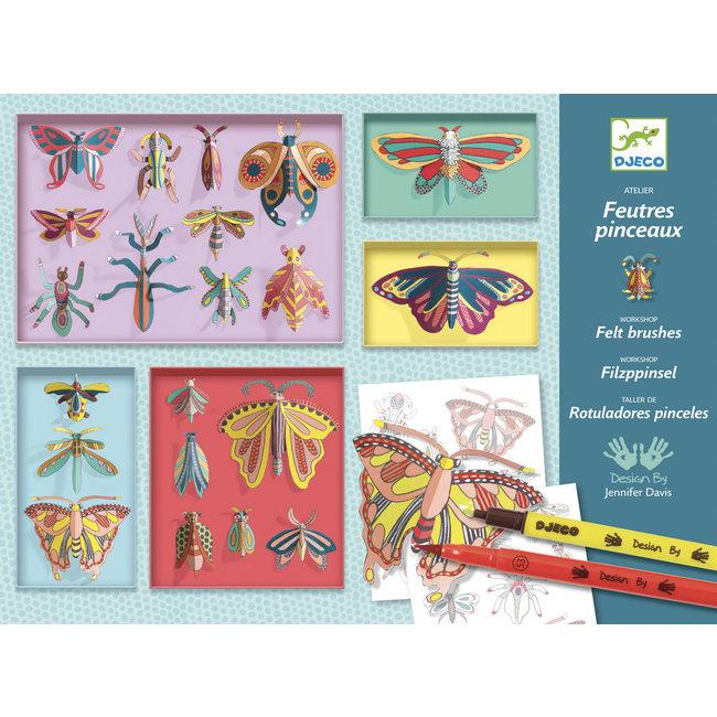 Djeco Kleurset Insectenkast - Rariteitenkabinet