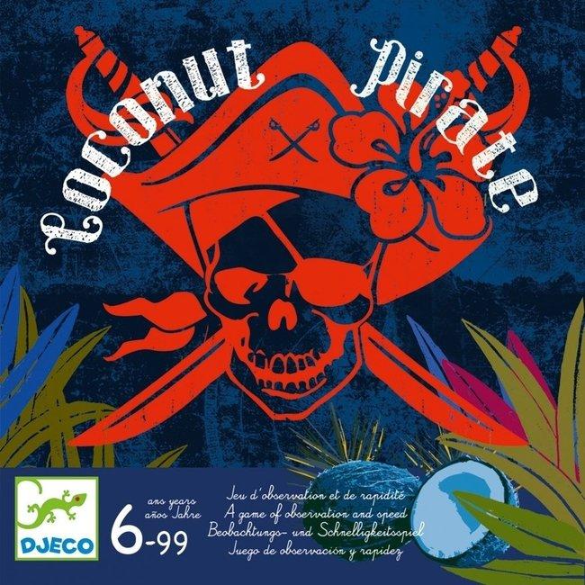 Djeco Snelheid -en observatiespel Coconut Pirate