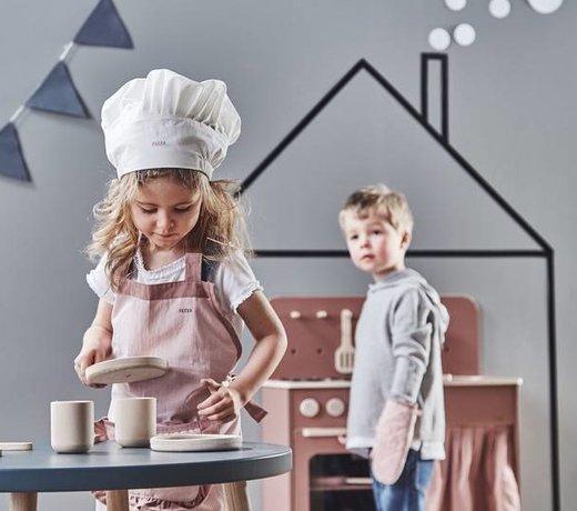 Houten speelgoed keukens, marktkraampjes & werkbanken voor kinderen