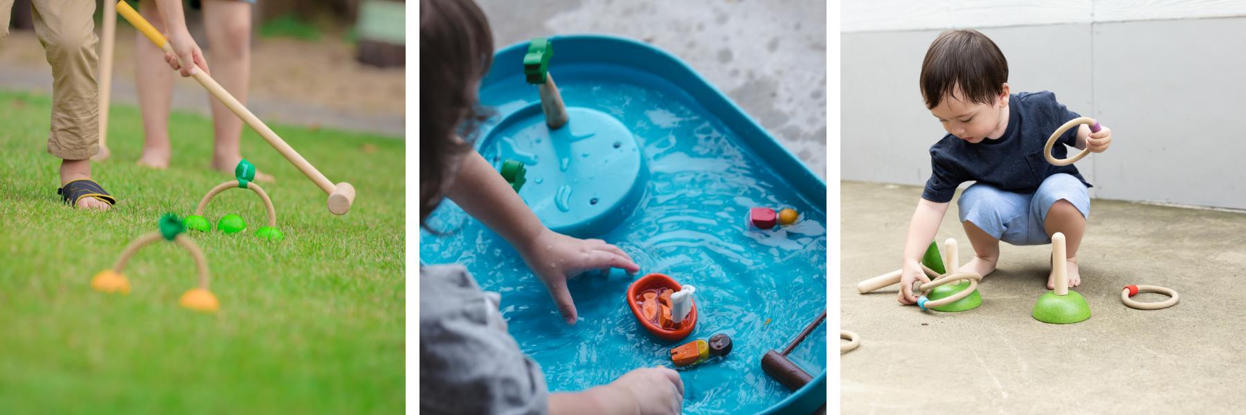 Plan Toys buitenspeelgoed