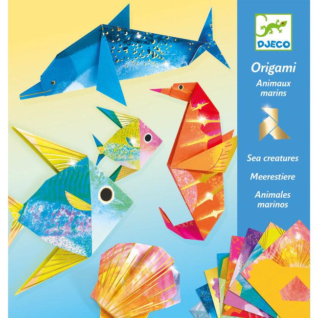 Djeco Eenvoudige Origami - Zeedieren | Djeco