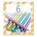 Djeco Metallic Stiften - 6 stuks | Djeco