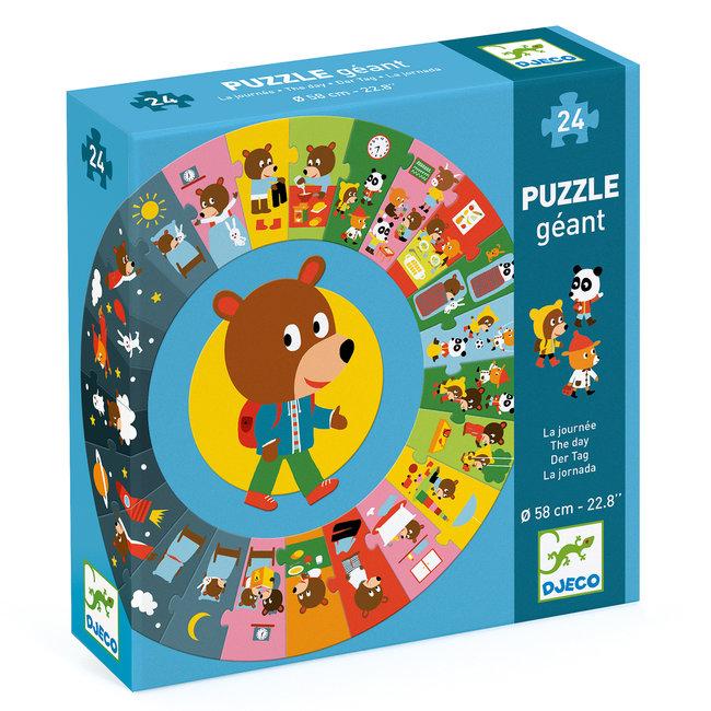 Puzzel XL (24st) De Dag | Djeco