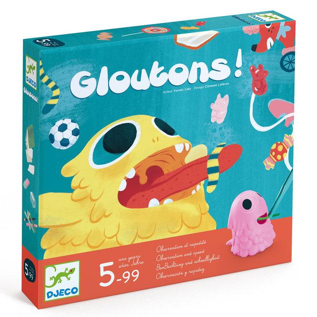 Snelheid- en behendigheidsspel Gloutons | Djeco