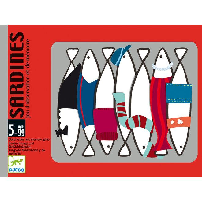 Geheugenspel Sardines | Djeco