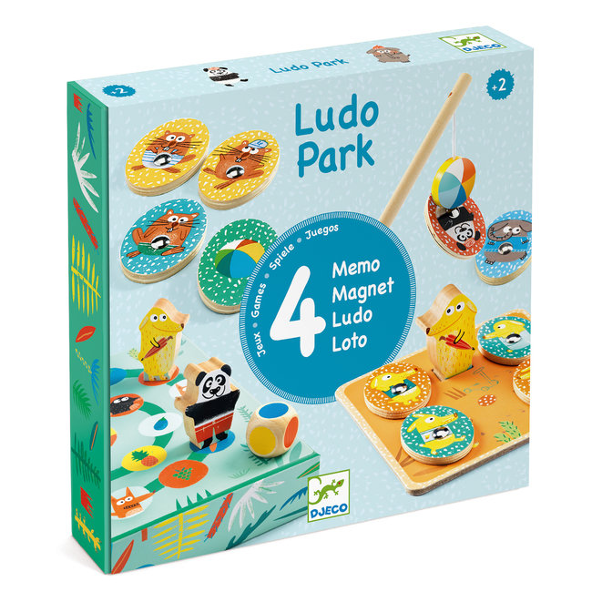 Eerste Spelletjes Ludo Park |Djeco