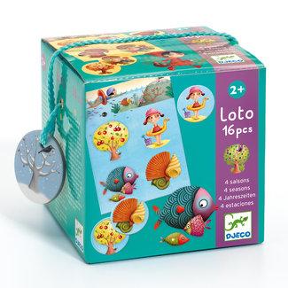 Djeco Loto/Bingo Educatief Spel - De Vier Seizoenen | Djeco
