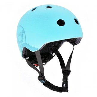 Scoot and Ride Fiets & Skate Helm Blueberry | Scoot and Ride