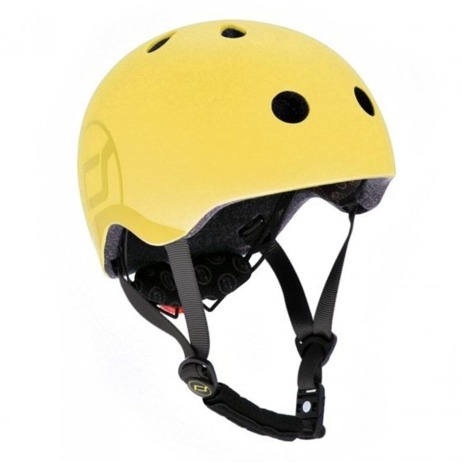Scoot and Ride Fiets & Skate Helm Lemon | Scoot and Ride