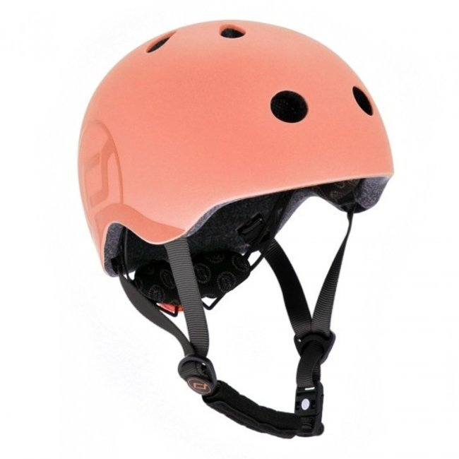 Fiets & Skate Helm Peach   Scoot and Ride