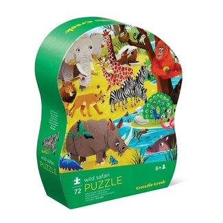 Crocodile Creek Puzzel Wild Safari - 72 stuks