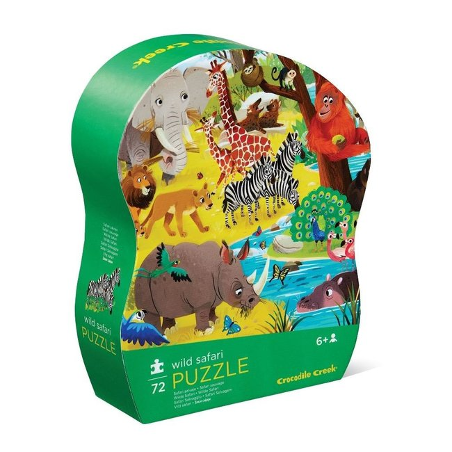 Puzzel Wild Safari - 72 stuks