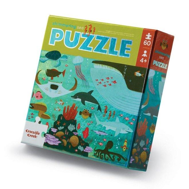 Foil puzzel Shimmering Sea - 60 stukken