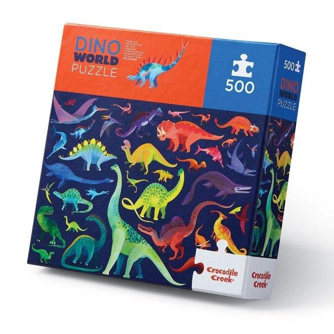 Puzzel Dino World - 500 stuks