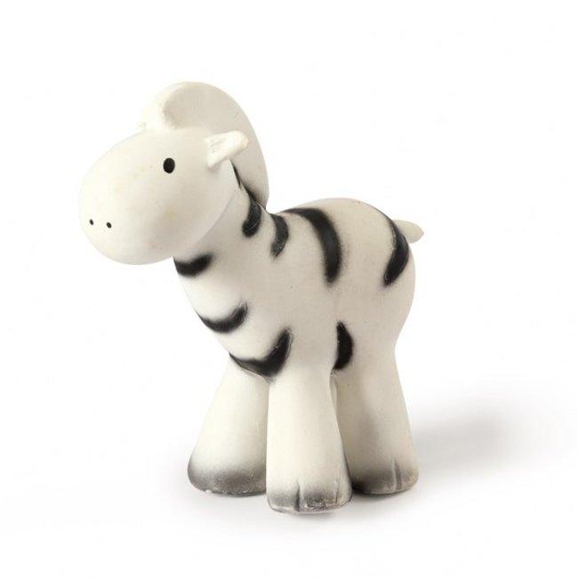 Badspeeltje Zebra met belletje   Tikiri
