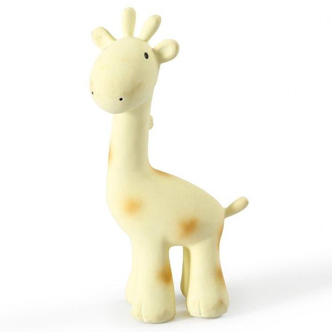 Tikiri Badspeeltje Giraf met belletje   Tikiri