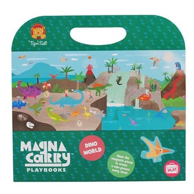 Magna Carry - Dino World   Tiger Tribe